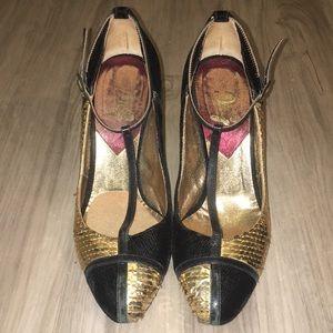 D&G sequin heels